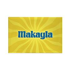 Makayla Sunburst Rectangle Magnet