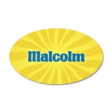 Malcolm Sunburst Wall Decal