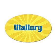 Mallory Sunburst Wall Decal
