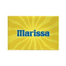 Marissa Sunburst Rectangle Magnet