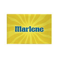Marlene Sunburst Rectangle Magnet