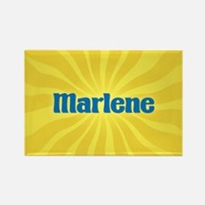 Marlene Sunburst Rectangle Magnet
