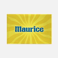 Maurice Sunburst Rectangle Magnet