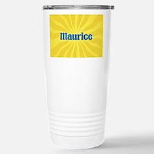 Maurice Sunburst Stainless Steel Travel Mug