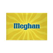Meghan Sunburst Rectangle Magnet