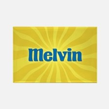 Melvin Sunburst Rectangle Magnet