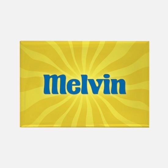 Melvin Sunburst Rectangle Magnet
