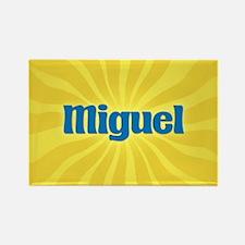 Miguel Sunburst Rectangle Magnet