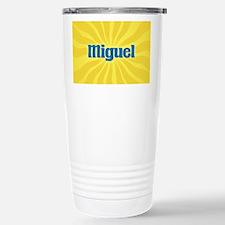 Miguel Sunburst Stainless Steel Travel Mug