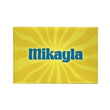 Mikayla Sunburst Rectangle Magnet