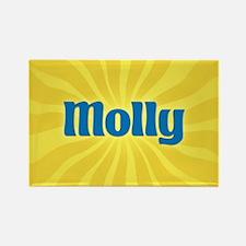 Molly Sunburst Rectangle Magnet
