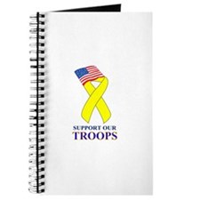 Support Our Troops Logo Journal