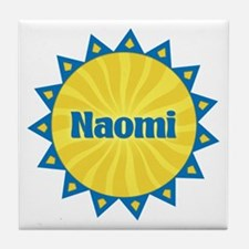 Naomi Sunburst Tile Coaster