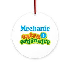 Mechanic Extraordinaire Ornament (Round)