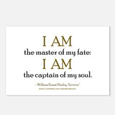 """""""Master Of My Fate"""" Postcards (Package of 8)"""