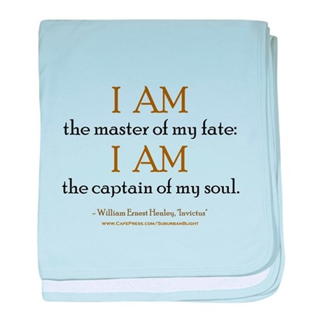 """Master Of My Fate"" baby blanket"