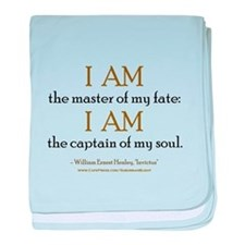 """""""Master Of My Fate"""" baby blanket"""