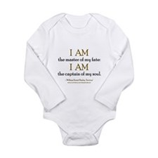 """""""Master Of My Fate"""" Long Sleeve Infant Bodysuit"""