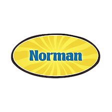 Norman Sunburst Patch