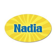 Nadia Sunburst Wall Decal