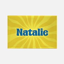 Natalie Sunburst Rectangle Magnet