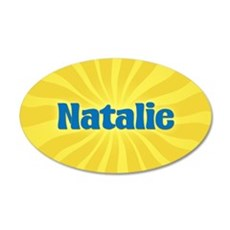 Natalie Sunburst Wall Decal