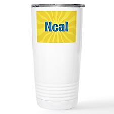 Neal Sunburst Travel Coffee Mug