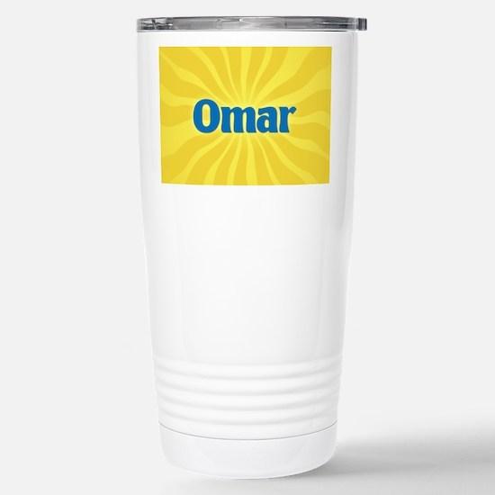 Omar Sunburst Stainless Steel Travel Mug