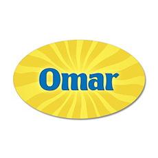 Omar Sunburst Wall Decal
