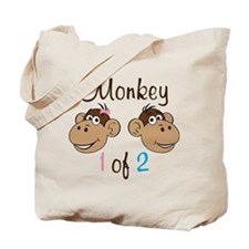 Monkey 1 Tote Bag