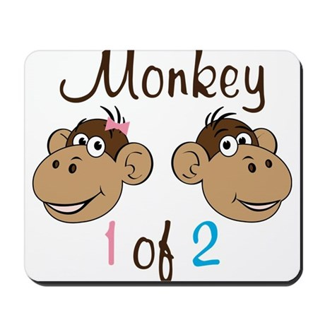 Monkey 1 Mousepad