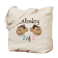Monkey 2 Tote Bag