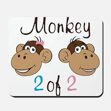 Monkey 2 Mousepad