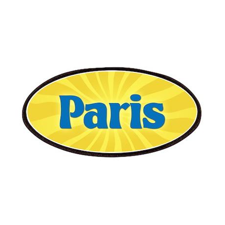 Paris Sunburst Patch