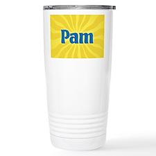 Pam Sunburst Travel Mug
