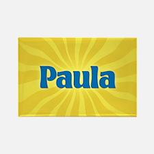 Paula Sunburst Rectangle Magnet