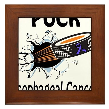 Puck Esophageal Cancer Framed Tile
