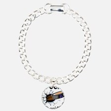Puck Esophageal Cancer Charm Bracelet, One Charm