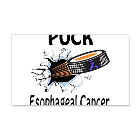 Puck Esophageal Cancer 20x12 Wall Decal
