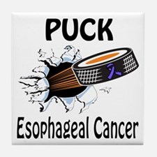 Puck Esophageal Cancer Tile Coaster