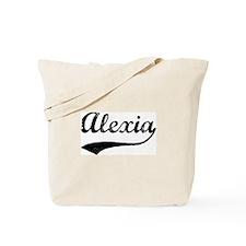 Vintage: Alexia Tote Bag
