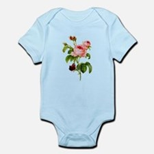 Pierre-Joseph Redoute Rose Infant Bodysuit