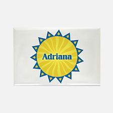 Adriana Sunburst Rectangle Magnet