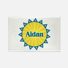 Aidan Sunburst Rectangle Magnet