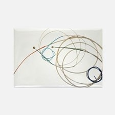 Cello Strings Rectangle Magnet