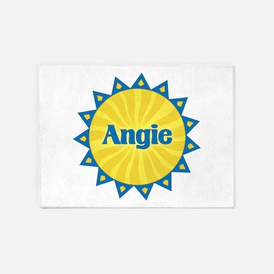 Angie Sunburst 5'x7' Area Rug