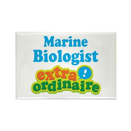 Marine Biologist Extraordinaire Rectangle Magnet