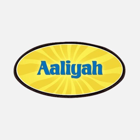 Aaliyah Sunburst Patch