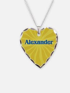Alexander Sunburst Necklace