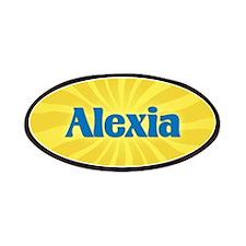 Alexia Sunburst Patch